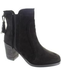 Cara London - Scorch Women's Low Ankle Boots In Black - Lyst