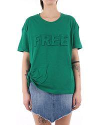 Jijil JPE21TS178-0JE0081 T-shirt - Vert