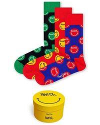 Happy Socks Love Me 3-Pack Gift Box - Multicolor