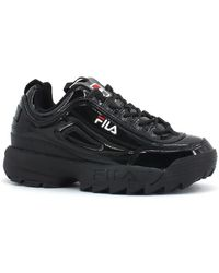 Fila DISRUPTOR LOW WMN Chaussures - Noir