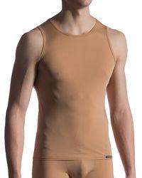 MANSTORE Camiseta tirantes M808 Tank Top Invisible - Neutro