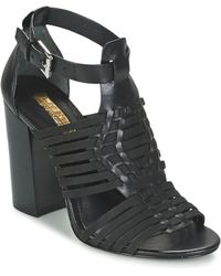 Lauren by Ralph Lauren - Harietta Sandals Casual Women's Sandals In Black - Lyst