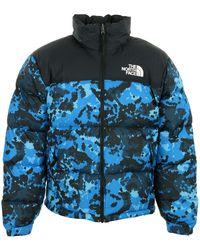 The North Face Doudoune Nuptse 1996 - Bleu