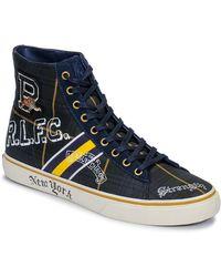 Polo Ralph Lauren Hoge Sneakers Solomon Ii - Blauw
