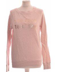 H&M Sweat Femme 34 - T0 - Xs Sweat-shirt - Rose