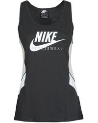 Nike Top Nsheritage Ttop Hbr - Nero