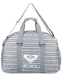 Roxy - Feel Happy 35l - Petate Deportivo De Tama?o Mediano Women's Sports Bag In Grey - Lyst
