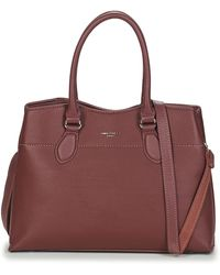 David Jones Handtas Cm5352-bordeaux - Rood