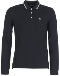 Emporio Armani Polo Sweater - Zwart