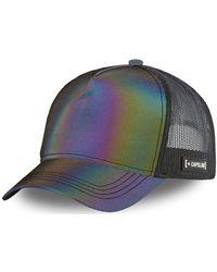 Capslab Casquette Casquette Trucker Colorz Rainbow - Multicolore
