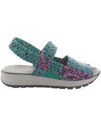 Bernie Mev Tara Bay Cotton Candy Print Chaussures - Métallisé
