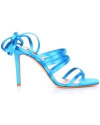 Pinko 1H20UE-Y72D Avec talon Femme Bleu Sandales
