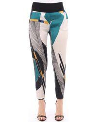 Manila Grace P295VS Pantalons de costume - Bleu