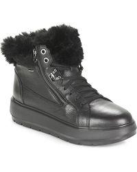Geox D Kaula B Abx Mid Boots - Black