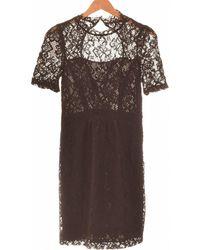 Claudie Pierlot Robe Courte 36 - T1 - S Robe - Noir