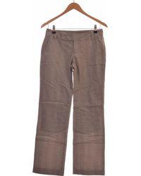 Mexx Pantalon Droit Femme 38 - T2 - M Pantalon - Gris