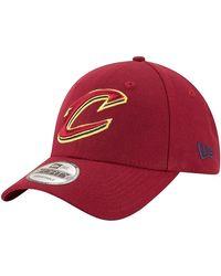 KTZ Cap 9Forty League Cleveland Cappello - Rosso