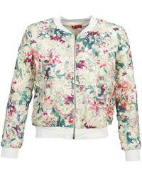 Rene' Derhy - Jeu Women's Jacket In Multicolour - Lyst