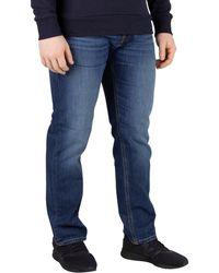 Jack & Jones Pour des hommes Mike Original 814 Jeans, Bleu hommes Jeans en bleu
