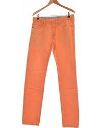 Esprit Jean Droit Homme 42 - T4 - L/xl Jeans - Orange
