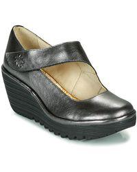 Fly London Zapatos de tacón YASI - Gris