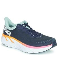 Hoka One One Lage Sneakers Clifton 7 - Blauw