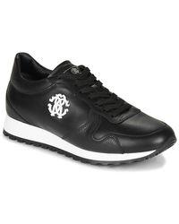 Roberto Cavalli Lage Sneakers 1022 - Zwart