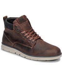 Jack & Jones Laarzen Jfw Tubar Leather - Bruin
