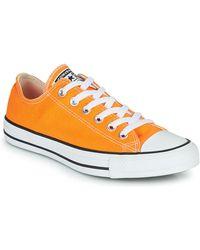 Converse Zapatillas CHUCK TAYLOR ALL STAR SEASONAL COLOR OX - Naranja