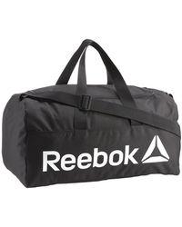 Reebok Act Core M Grip Sports Bag - Black