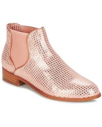 Mellow Yellow Daboris Women's Mid Boots In Pink