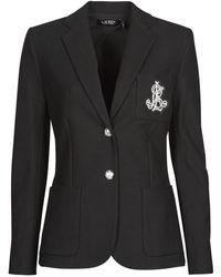 Lauren by Ralph Lauren Blazer Anfisa-lined-jacket - Zwart