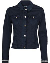 Liu Jo Giacca In Jeans Wa1127-T6446-T9812 - Blu