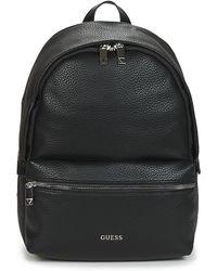 Guess Rugzakken Dan Pu Backpack - Zwart