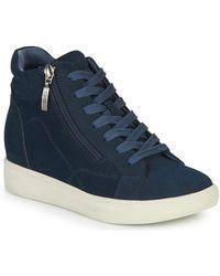 Esprit Hoge Sneakers Granada Bootie - Blauw