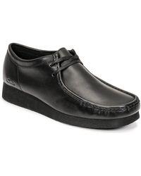 Clarks Nette Schoenen Wallabee 2 - Zwart