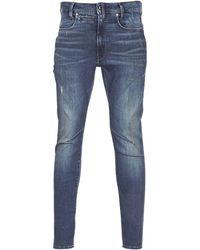 G-Star RAW Skinny Jeans D-staq 3d Skinny - Grijs