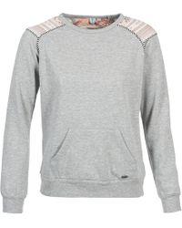 Rip Curl - Calama Women's Sweatshirt In Grey - Lyst