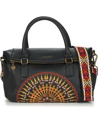 Desigual African Mandala Loverty Handbags - Black