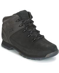 Timberland EURO SPRINT HIKER hommes Boots en Noir