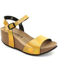BEARPAW Sandales compensées Hong Kong Sandales - Métallisé