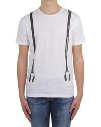 Daniele Alessandrini M919E6434100 T-shirt - Blanc