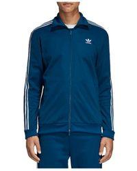adidas Sweater Originals Bb Track Jacket Dv1522 - Blauw