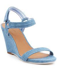 Lacoste Karoly 7-29srw2314125 Sandals - Blue
