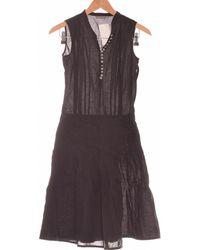 Mexx Robe Courte 34 - T0 - Xs Robe - Noir