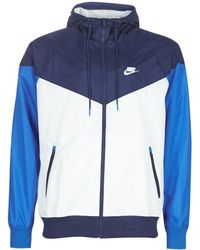 Nike M NSW HE WR JKT HD hommes Coupes vent en bleu