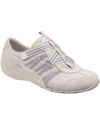 buy online e5552 929a9 Skechers - Unity Existant Womens Sports Shoes Women s Shoes (trainers) In  Beige - Lyst