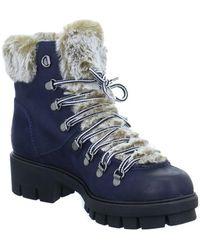 Tamaris - Faye Women's Low Ankle Boots In Blue - Lyst