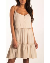Beachlife Vestido Vestido de verano con tirantes finos Ropa playa - Blanco
