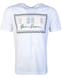 Versus Bu90712bj10388_b1001white T Shirt
